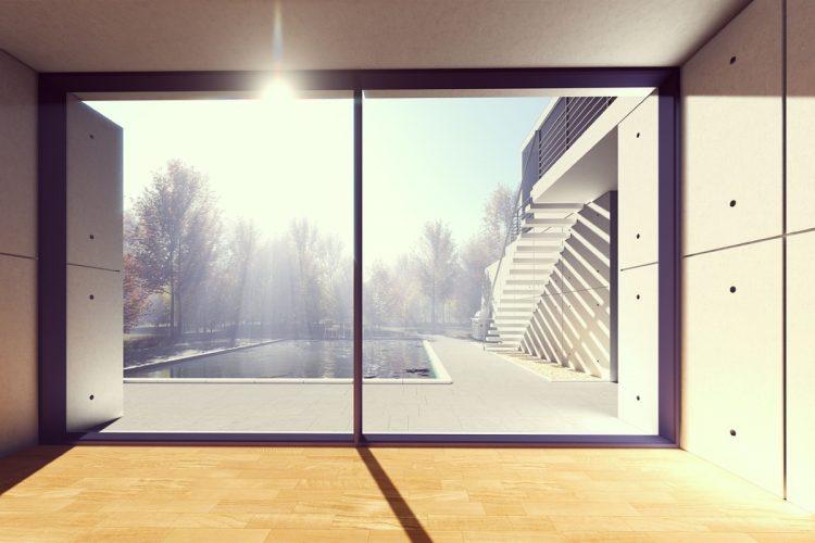 okna lesena